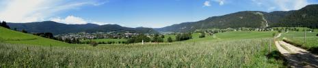 Panoramique d'Autrans depuis le Claret (Autrans)