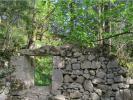 Ruines du habert primitif de Chartroussette (Grande Chartreuse)