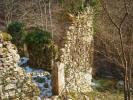 Ruines du moulin des Brieux (Sentier des peintres à Proveysieux)