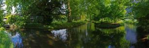 Panoramique - Pièce d'eau (Parc du château de Sassenage)