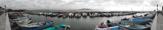 Panoramique port de pêche - Mèze (Mèze - Etang de Thau)