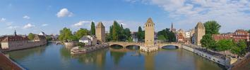 Panoramique Strasbourg - Les Ponts Couverts (Strasbourg)