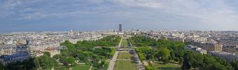 Panoramique Tour Eiffel - 1er étage (Paris - Versailles)