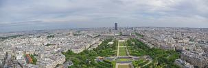 Panoramique Tour Eiffel 2e étage (Paris - Versailles)