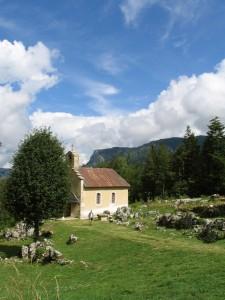 La chapelle, unique rescapée