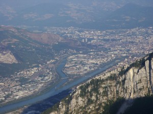 Confluence Drac-Isère