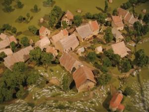 Le village avant sa destruction