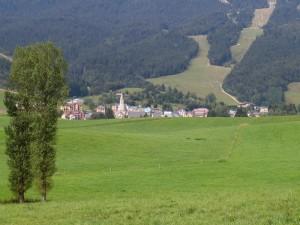 Méaudre, au milieu des champs