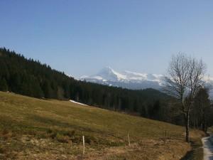 Les Moucherolles depuis le Col du Liorin