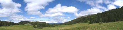 Le vallon de la Fauge - Vue panoramique