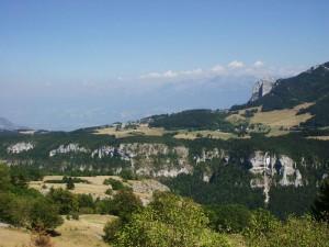 Saint-Nizier depuis les Aigaux