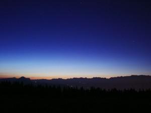 Silhouettes de Chartreuse et Belledonne