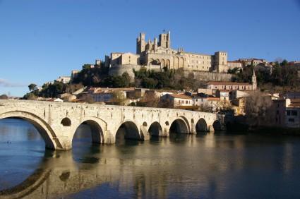 Béziers et le Pont Vieux