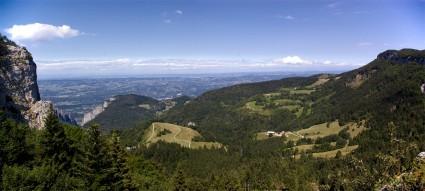 Les Coulmes depuis le Pas du follet - Vue panoramique