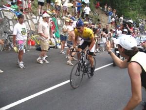 17h09 - Lance Armstrong, US Postal