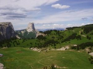 Alpages et Mont-Aiguille