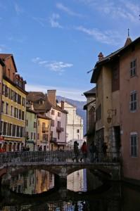 Canaux du vieil Annecy