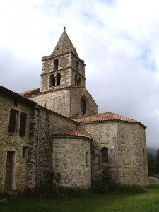 Chevet de l'abbaye