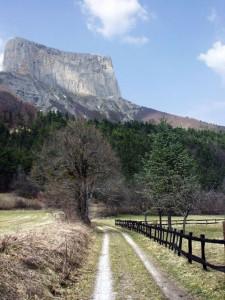 Clôture sous le Mont Aiguille