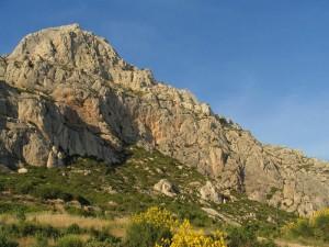 Croix de Provence au sommet de la Sainte-Victoire