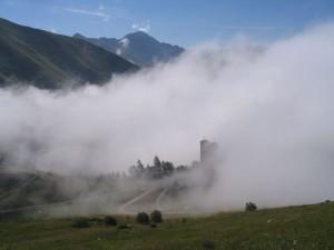 Vue depuis les flancs du Mont Gargas