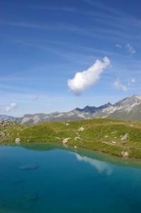 Le Lac Bleu - Couleurs lagons