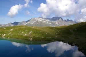 Le Lac Bleu - Miroir