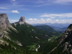 Mont-Aiguille depuis le Pas