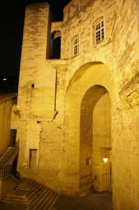 Porte côté cour