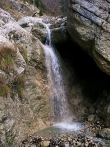Cascadette du ruisseau de Charminelle