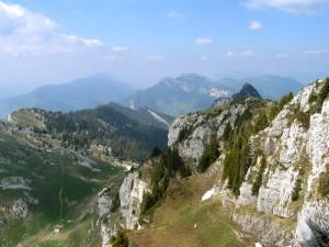 Col de Bovinant depuis le sentier des Moutons - Grand Som