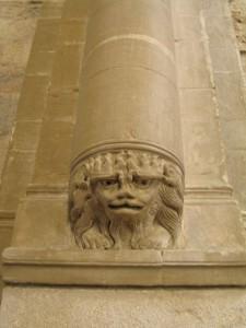 Détail d'un pilier