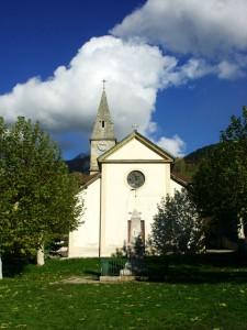 L'église de Pommiers-la-Placette