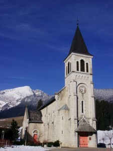 L'église de St-Hugues-de-Chartreuse