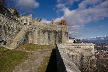 Escaliers et bastions