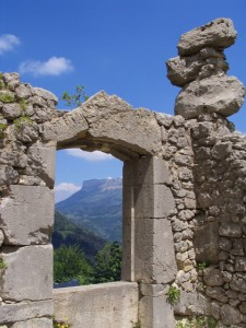 Fenêtre sur le Granier