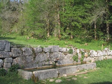 Monumentale fontaine de Chartroussette
