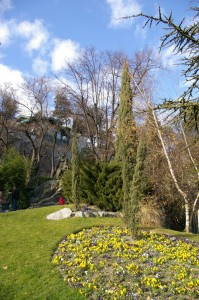 Jardin des Dauphins - Entrée