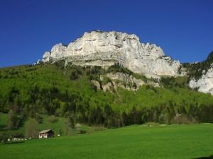 La Plagne, le Mont Granier et le col de l'Alpette