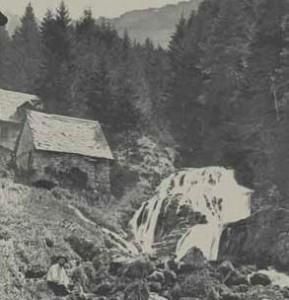 Moulin - photo d'époque