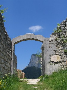 Porche du château