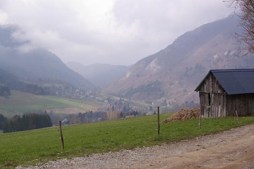 Le Sappey depuis Montjalat