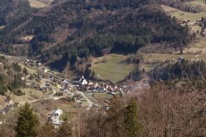 Vue sur Saint-Pierre d'Entremont