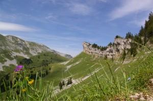 Vers le Col de la Sure