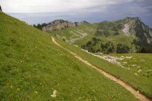 Vers le Col d'Hurtières