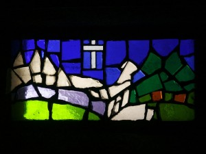Vitrail de la chapelle