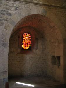 Vitrail du transept
