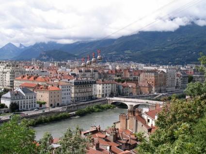 Vue de Grenoble