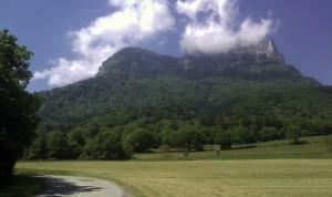 Mont Granier depuis les hauts de Chapareillan