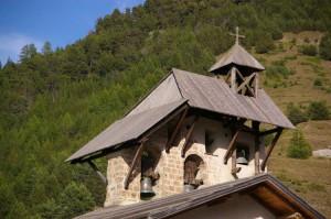 Clocher de l'église Saint-Sébastien - Ceillac